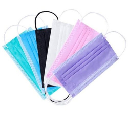 Disposable Face Mask Colored 3Ply 10pcs