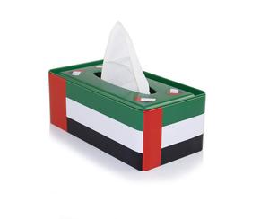Nat Day Tissue Box I Love UAE 5x150s