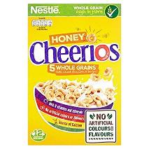 Nestle Cheerios Honey Nut 375g