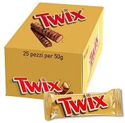 Twix Standard Twin Fingers 25x50g