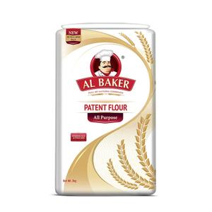 Al Baker Patent Flour 4x1kg