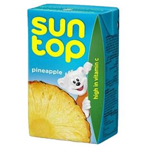 Suntop Pineapple Juice 24x250ml