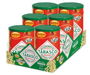 Kitco Tabasco Potato Stix 6x45g