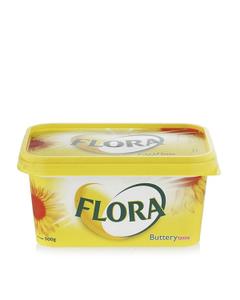 Flora Margarine Buttery 2x500g