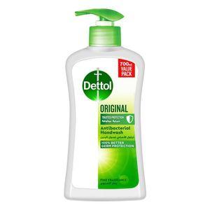 Dettol Original Handwash Liquid Soap Pump Pine Fragrance 700ml