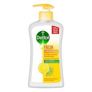 Dettol Fresh Handwash Liquid Soap Pump Citrus & Orange Blossom Fragrance 700ml