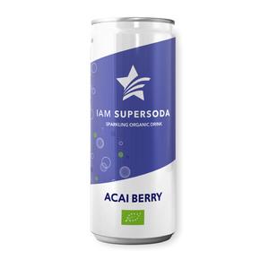 I Am Supersoda Acai Berry Soda 250ml
