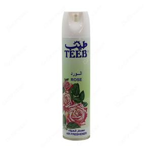 Teeb Airfreshner Rose Fresh 300ml