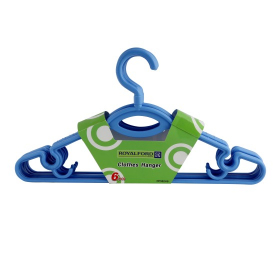 Royalford Cloth Hanger Plastic Rf982 6 Inch