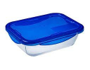 Pyrex Cook And Go Rectangle Roaster With Lid 1.7L