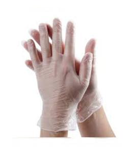 Vinyl Gloves Assorted 1pc