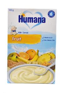 Humana Milk Cereal Fruits 2x180g