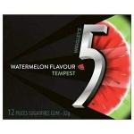 Wrigley's 5 Gum Watermelon Bottle 96g