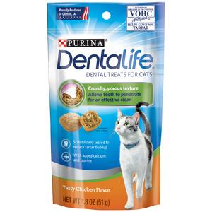 Dental Life Treats Chicken For Cat 1.8oz