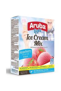 Aruba Light Strawberry Ice Cream Mix 70g