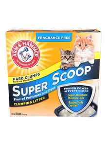 Arm & Hammer Super Scoop Cat Fragrant Free Clumping Litter 6.35kg