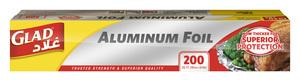 Glad Aluminum Foil 200Sqft 12pc