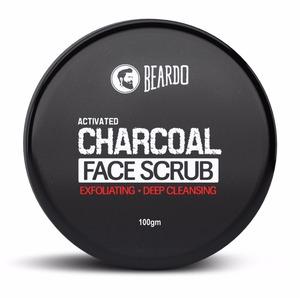 Beardo Active Charcoal Face Scrub 100g