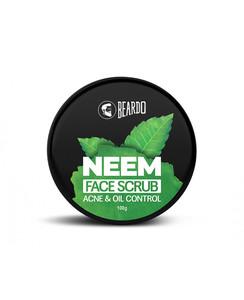 Beardo Neem Face Scrub 100g