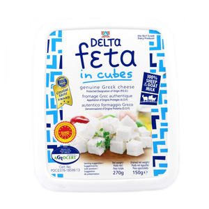 Delta Feta Cheese In Cubs 150g