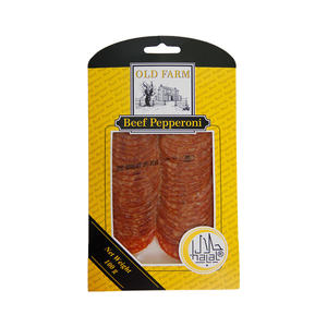 Old Farm Beef Pepperoni Sliced 100g