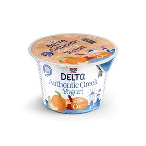 Delta Peach & Apricot Greek Yoghurt 0% Fat 170g