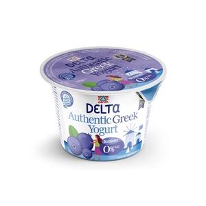 Delta Blueberry Greek Yoghurt 0% Fat 170g