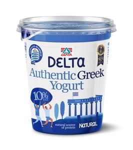 Delta Plain Greek Yoghurt 10% Fat 400g