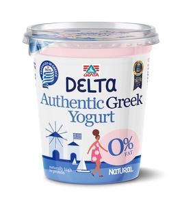 Delta Plain Greek Yoghurt 0% Fat 400g