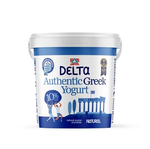 Delta Plain Greek Yoghurt 10 % Fat 1kg