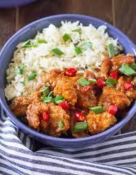 Quick Cuisine Manchurian Chicken Rice 300g