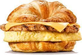 Croissanwich Turkey 1pc
