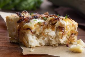 Focaccia Bread Onion And Cheese 200g