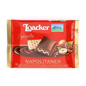 Loacker Chocolate Bar Napolitaner 55g