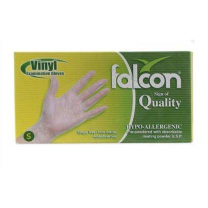Falcon Vinyl Gloves Xl 100s