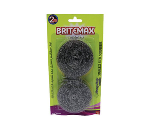 Britemax Stainless Steel Scour Pad 1pc
