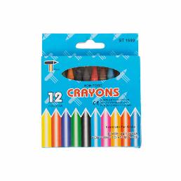 Co-Op Non Toxic 12Pcs Wax Crayons 12pcs