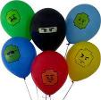 Sunny Balloons Printed 1pc
