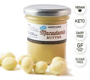 Vegan Macadamia Butter 160g