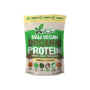Raw Vegan Organic Protein Vanilla 1kg