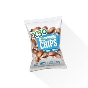 Mushroom Chips Sea Salt 60g