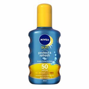 Nivea Sun Protect & Refresh SPF 50+ 2x100ml