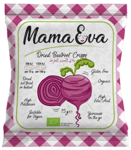 Mama Eva Organic & Gluten Free Crisps Beetroot 15g