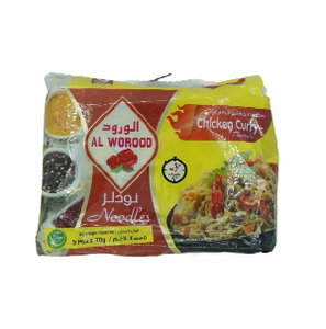 Al Worood Vegetable Noodles 2x5x70g