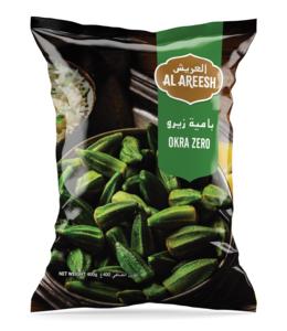 Al Areesh Okra Zero 400g