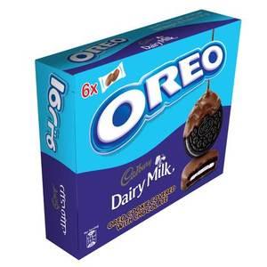 Oreo Cookies Cadbury Coated 204g