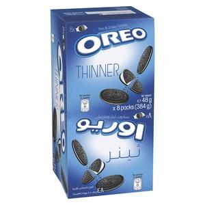 Oreo Thinner Cookies 8x48g