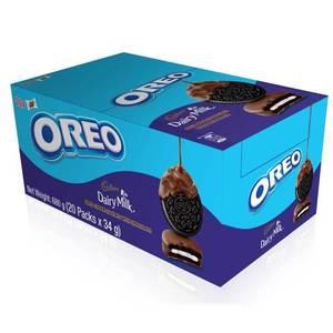 Oreo Cookies Chocolate Coated 20x34g