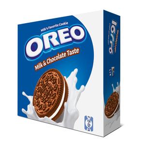 Oreo Milk And Chocolate Cookies 16x38g