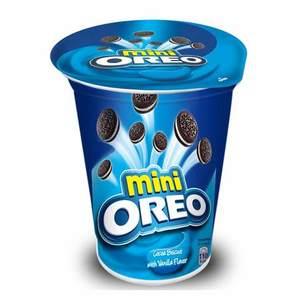 Oreo Mini Cocoa Cookies With Vanilla Flavor 67g